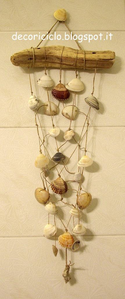 Souvent Qualche idea per decorare con le conchiglie forate | Blog MissHobby HS61