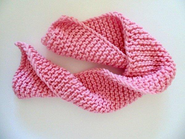 Una sciarpa veloce in maglia legaccio | Blog MissHobby