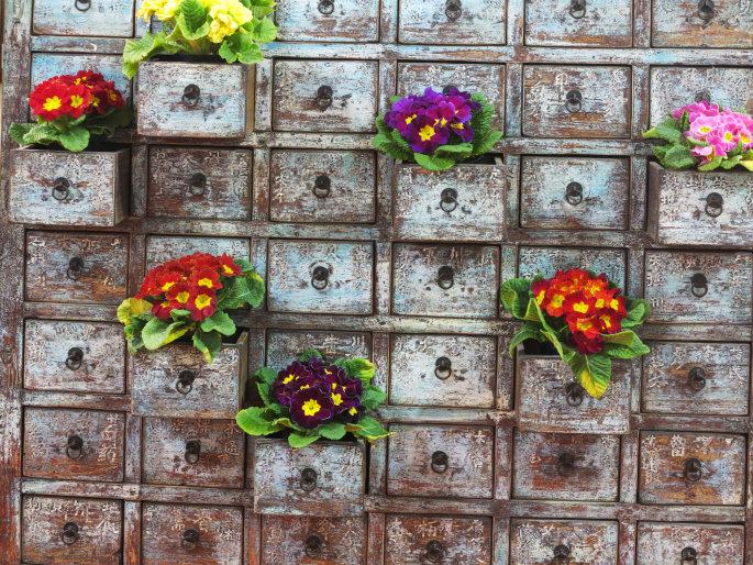 Idee di riciclo creativo: come trasformare il giardino Blog ...