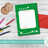 Caro Babbo Natale, Letterina per Babbo Natale, tenera lettera dei bambini per Babbo Natale, Natale Bambini