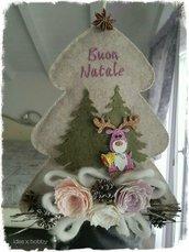 Fuoriporta Alberello Buon Natale