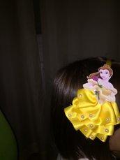 Cerchietto con la principessa.