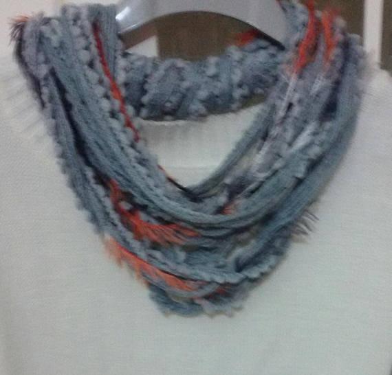 Sciarpa  scaldacollo handmade  regalo donna