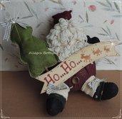 Cartamodello Babbo Natale pancione