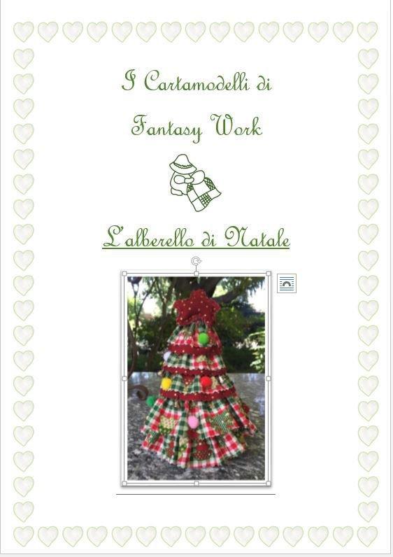 CARTAMODELLO - ALBERELLO DI NATALE - versione PDF