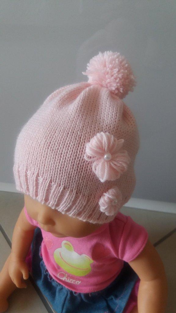 cappello bimba rosa - Bambini - Abbigliamento - di Myrita  4a5b0953b5e1
