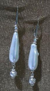 Orecchini Pendenti con perle barocche