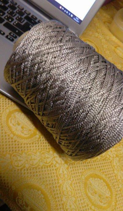 cordino thai effetto seta argento