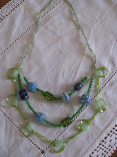 Collana Fili Verdi