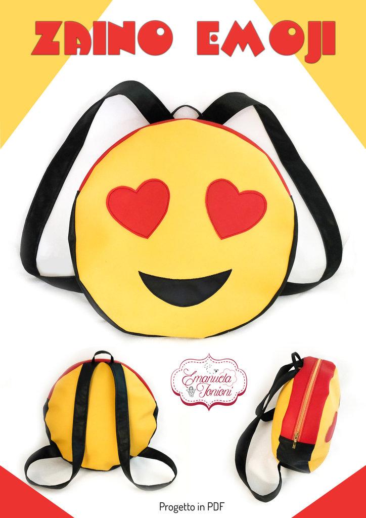 Cartamodello Zaino Emoji