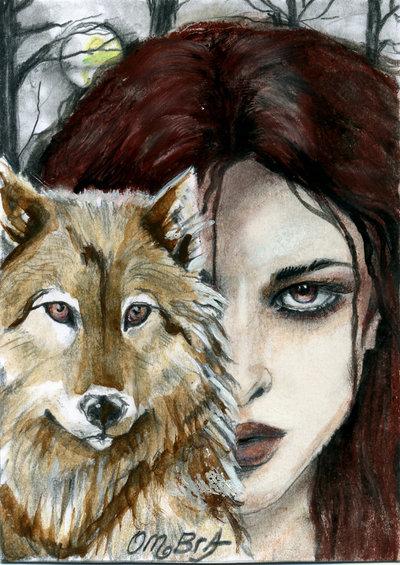 donna e lupo