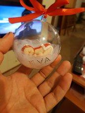 Pallina Natale personalizzTa