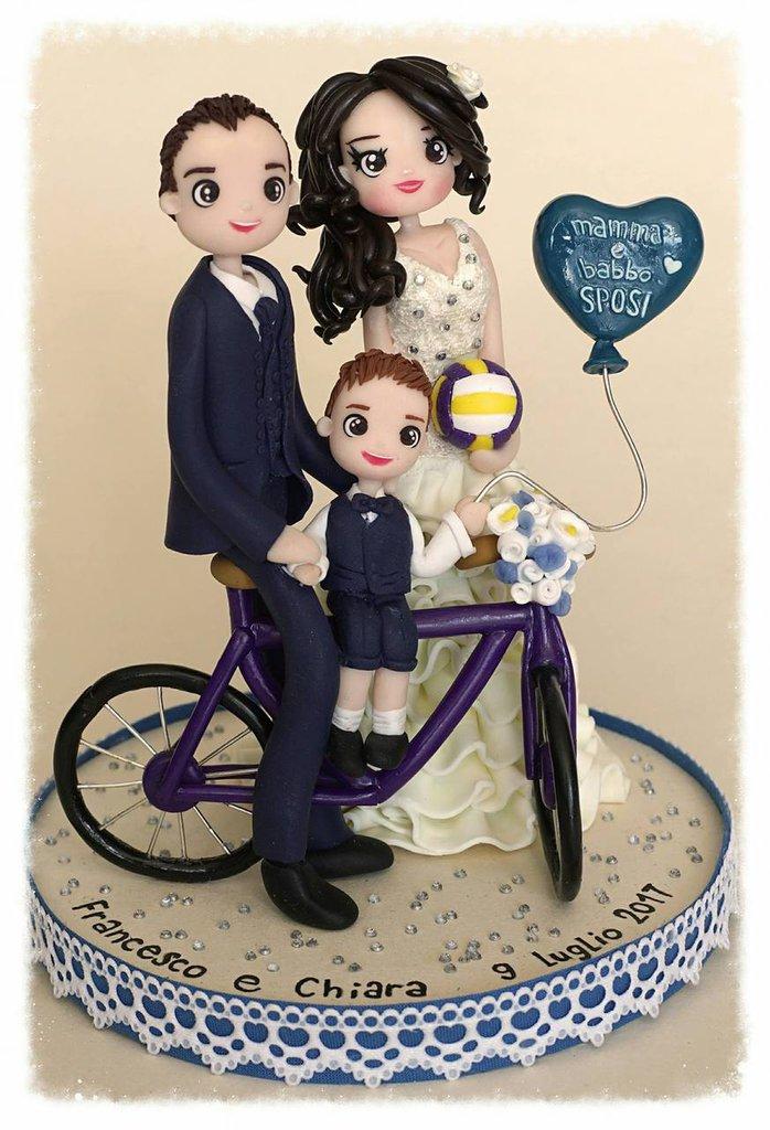 Cake topper matrimoniale personalizzabile