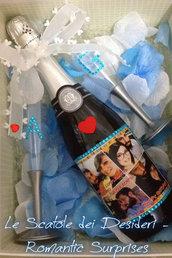 Bottiglia personalizzata per Compleanno
