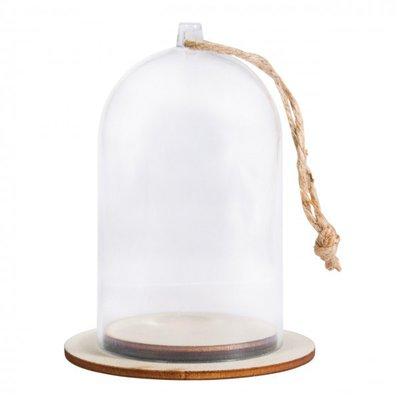 Campana di plastica con base (6x9cm)