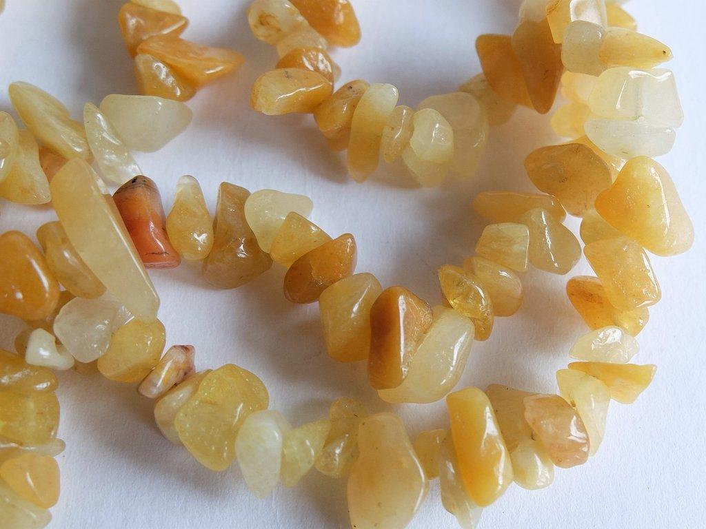 50 Frammenti agata gialla FMP22
