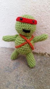 Tartaruga ninja amigurumi