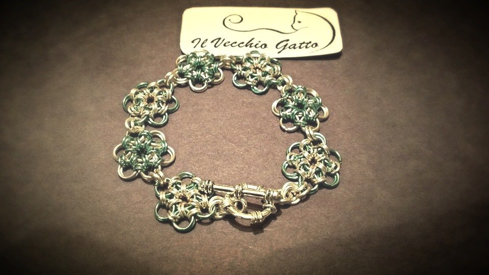 Bracciale in Chaine maille giapponese