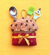 Panettone porta accessori da cucina, idea regalo!
