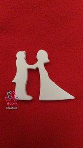 Gessetti profumati a forma di COPPIA ( Modello 2) per bomboniera, chiudipacco, segnaposto, Nozze, Compleanno, San Valentino, Matrimonio, San Valentino - IDEA REGALO
