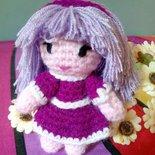 "Bambolina Amigurumi ""Violet"" Crochet Dolls"