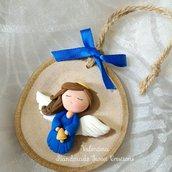 Idea regalo: angioletto blu con campanella