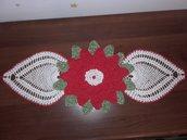Centrotavola Centrino Runner all'uncinetto Stella di Natale  71 × 31 cm idee regalo
