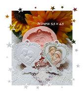 Stampo *Nuovo Albero della vita cuore Sacra Famiglia*