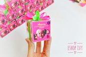 Scatolina personalizzata con foto completa di caramelle