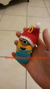 Minion all'uncinetto handmade per Natale!