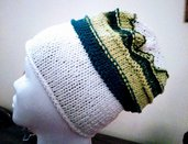Cappello in lana fatto a mano (modello unisex)