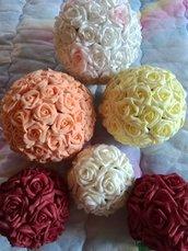palle di rose di foam