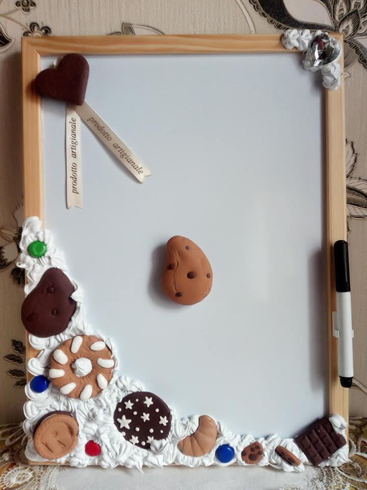 Lavagna magnetica da cucina per la casa e per te cucina di cu su misshobby - Lavagna magnetica da cucina ...