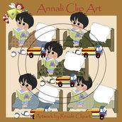 Fai la Nanna - Bimbo Moro - Clip Art per Scrapbooking e Decoupage - Immagini