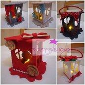 Lanterne in feltro