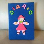 Simpatico diario personale coloratissimo da bambina