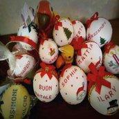 Palle natalizie decorative personalizzate