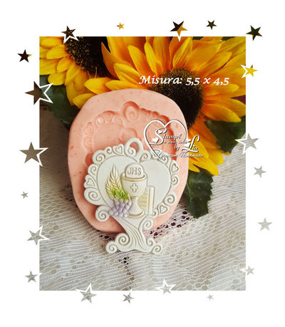 Stampo *Albero della vita cuore con calice*