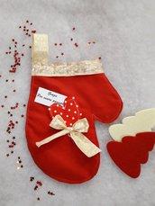 Guanto di Babbo Natale per Dolciumi