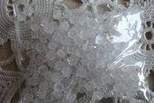 250 ferma monachelle in silicone a forma di fiorellino