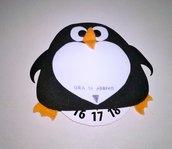 Disco orario pinguino