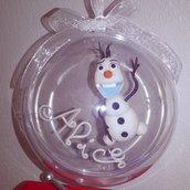 pallina di natale Olaf Frozen