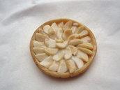 cibo in miniatura - TORTA DI MELE  °°°  miniature food - APPLE PIE - polymer clay cernit fimo