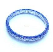 Braccialetto Resina Rosso Blu 62 mm diametro