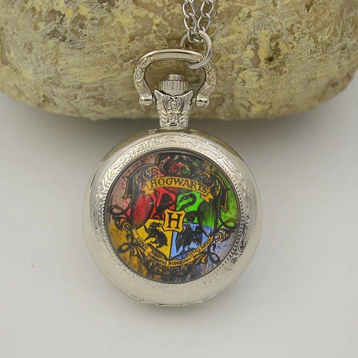 Collana Harry Potter Grifondoro orologio da taschino
