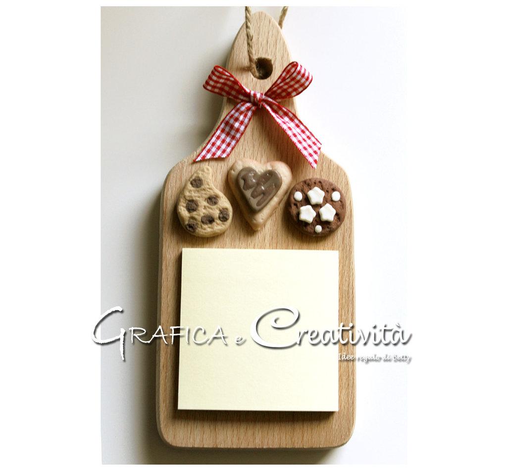 Tagliere per cucina: biscotti - Per la casa e per te - Cucina - di ...