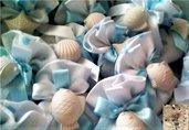 Sacchetti  confetti nascita,battesimo,confettata con gessetti profumati