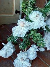 Angioletti decorazioni natalizie