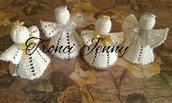 angeli ad uncinetto bellissimo regalo per nalale