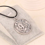 Collana Harry Potter Grifondoro binario 9